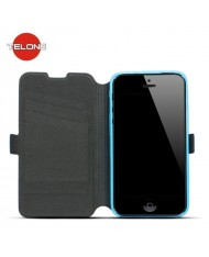 Telone Super Slim Shine Book Case with stand Huawei G620S Blue