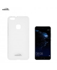 Kisswill Frosted Ultra Thin 0.6mm Back Case Huawei P10 Transparent