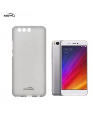 Kisswill Frosted Ultra Thin 0.6mm Back Case Xiaomi Mi5s Plus Smoked Black