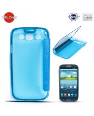 Telone Smart View&Touch Book Case Samsung i9500 Galaxy S4 Blue