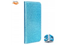 TakeMe 3D-Crystal Shine Magnetic fix Book Case for Samsung Galaxy S20FE (G780F) Electro Blue